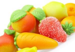 Марципановые фрукты