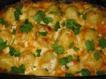 Идеально запеченный картофель