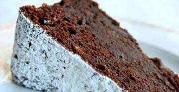 Шоколадный пирог на сидре