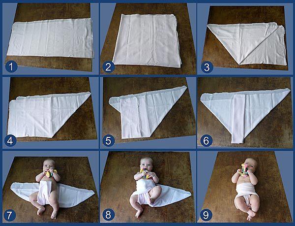Инструкция как сделать парлевый подгузник