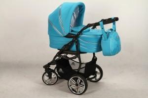 Красивая фирменная коляска для новорожденных
