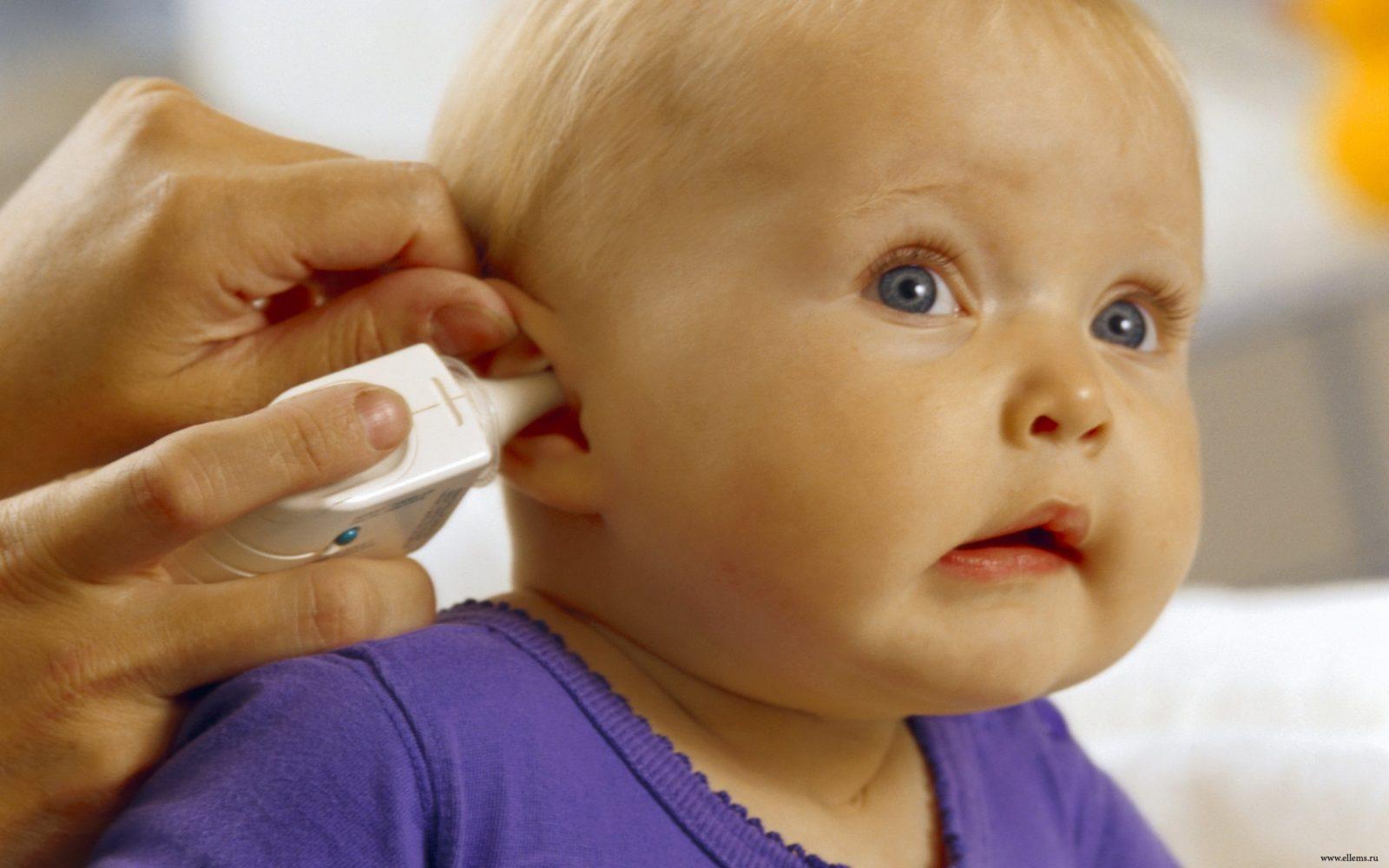 Гигиена ушей грудничка