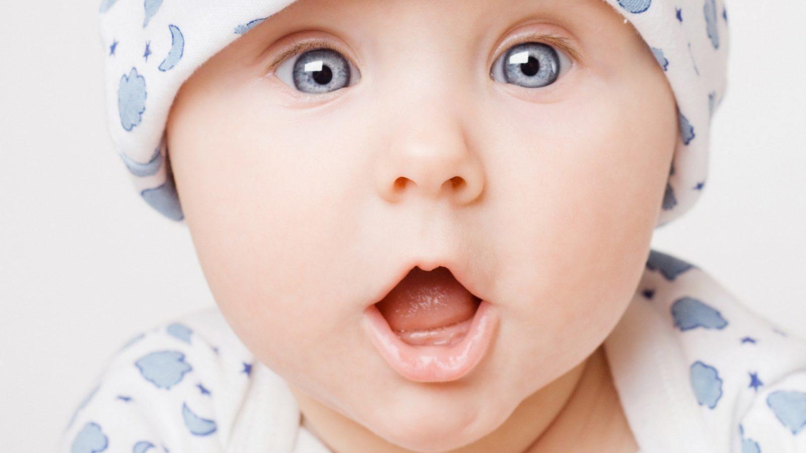 Голубой цвет глаз у новорожденных