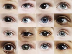 Какого цвета бывают глаза у грудничков