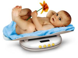 Вес ребенка в 3 месяца