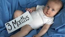 Новорожденный 3 месяца