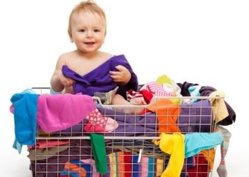 Как стирать одежду новорожденного
