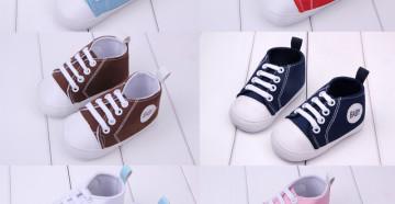 Подбор свременной первой обуви для малыша