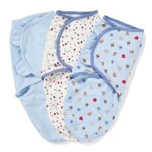 Пеленка кокон на липучках для новорожденных