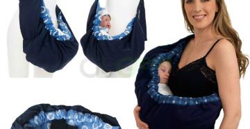 Слинг-карман для новорожденных