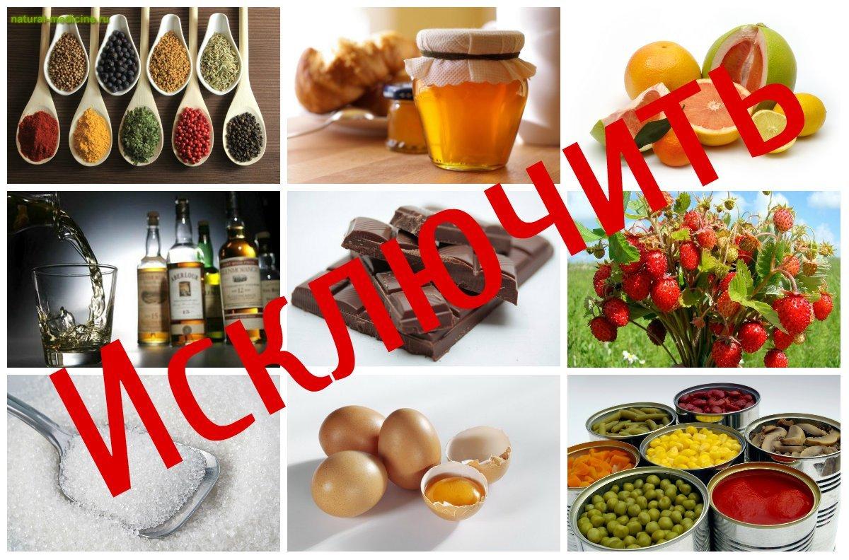 диета при васкулите аллергическом