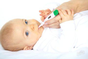Низкая температура у новорожденного