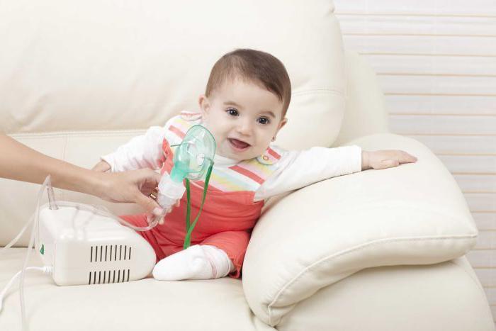 Лечить фарингит у новорожденного можно при помощи ингаляций небулайзером