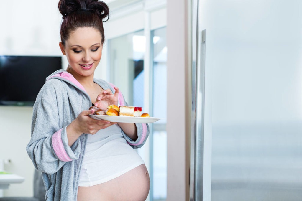 Отрыжка воздухом при беременности