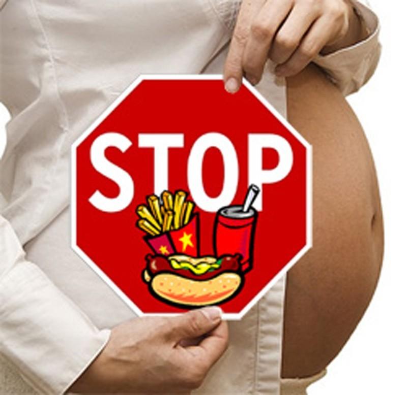 Не употребляйте продукцию из фаст-фудов при беременности из-за этого появляется экзема у грудничка