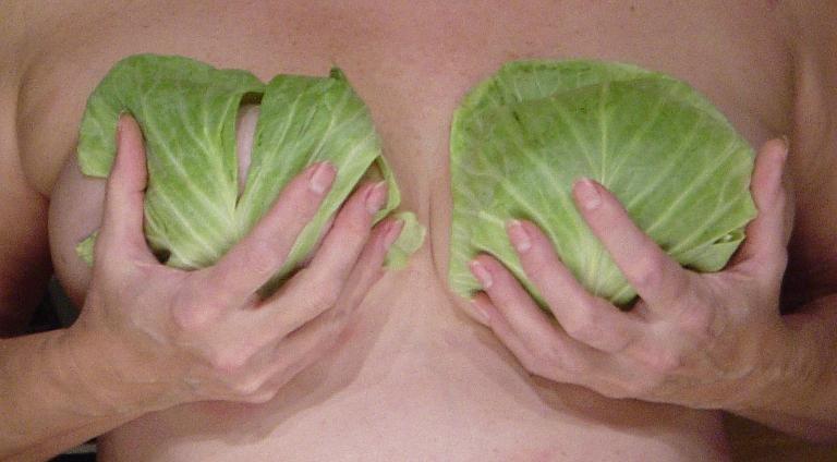 Мастит при грудном вскармливании лечится капустными компрессами