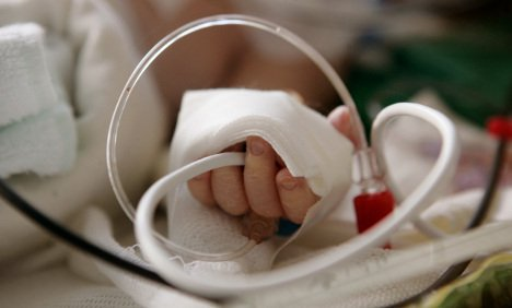 Установка катетеров влечет за собой тромбозы у новорожденных