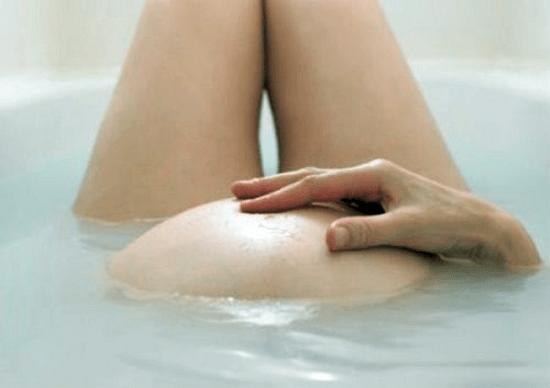 Ванна на ранних сроках беременности
