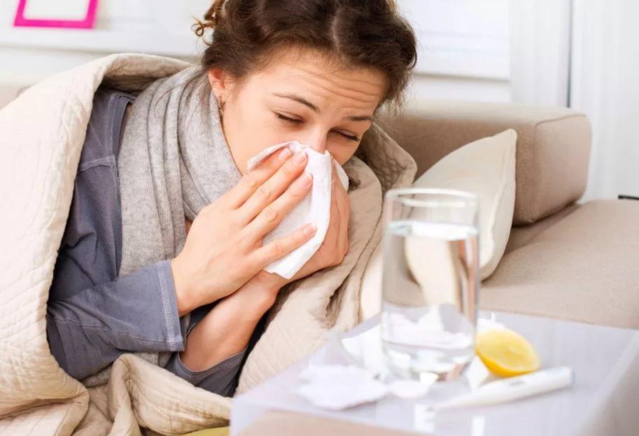 Грипп и ОРВИ при простуде может стать следствием того, что возник детский варикоз в период новорожденности