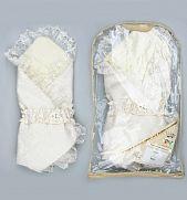 Теплый конверт с подкладкой на выписку для новорожденных зимой