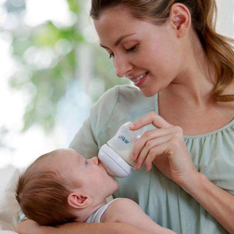 Позаботьтесь о том, чтобы кормление новорожденного ребенка было безопасным