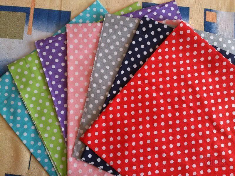 Ткань можно выбрать любого цвета, главное, чтобы она была натуральная