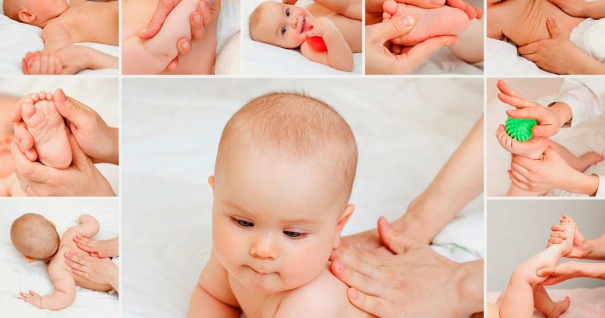Отличное средство в качестве реабилитации грудничка после бронхита — это комплексный массаж всего тельца ребенка