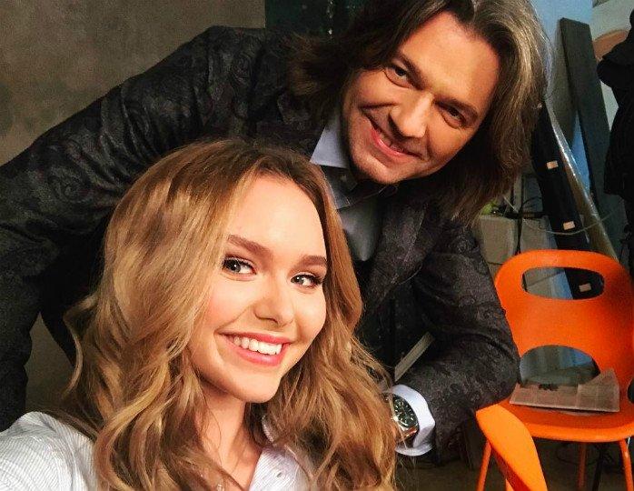Маликов с дочкой