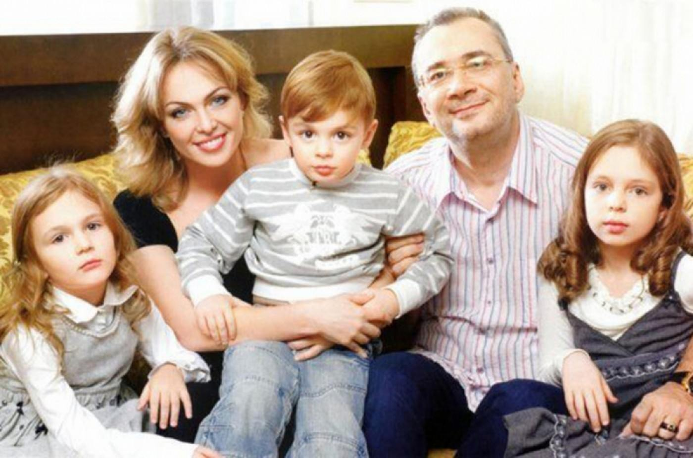 Семья Константина Меладзе