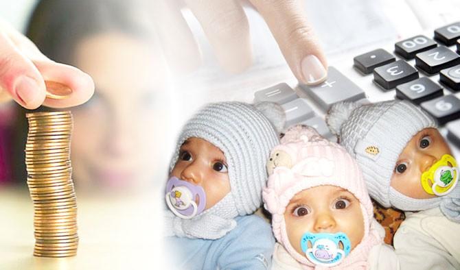 Пособия и выплаты на родившуюся тройню