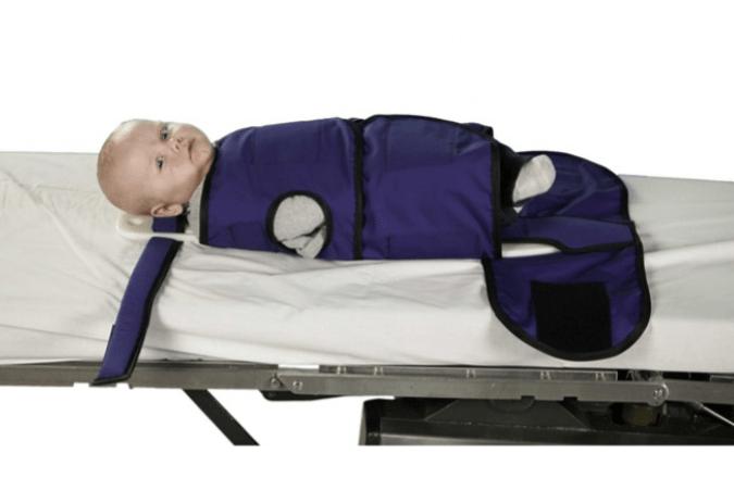 Защита новорожденного при проведении рентгена