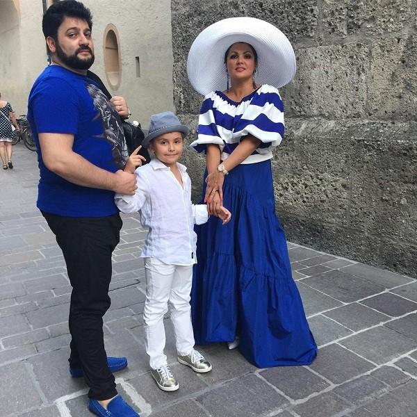 Тьяго - сын Анны Нетребко и родители