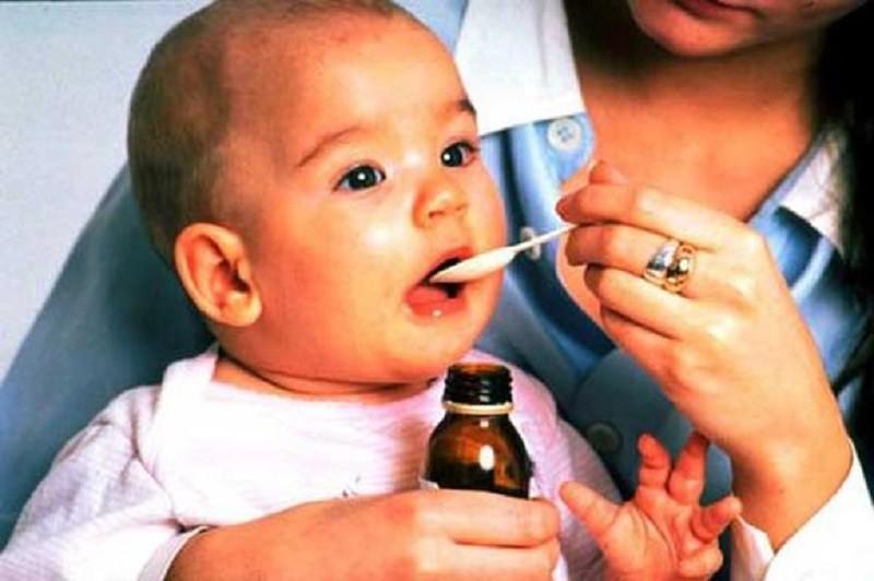 Жаропонижающее для новорожденных в форме сиропа